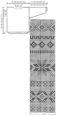 "DROPS ladies or men's jumper with pattern borders in ""Karisma"" ~ DROPS Design"