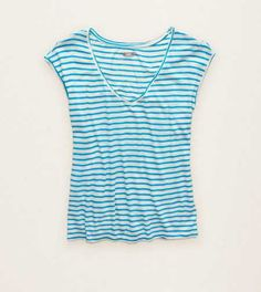 Aerie Striped Beach Tee. Lookin' pret-tee! #Aerie