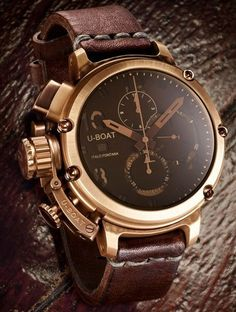 U-Boat U-51 Bronze   [Lifestyle × Swag] Timepiece   Pinterest