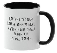 Ob für Zuhause, beim Frühstück, für das Büro, oder einfach nur so. Eine super Geschenkidee für Freunde, Familie oder Arbeitskollegen. Die Tasse ist hochwertig bedruckt von beiden Seiten und ist spülmaschienengeeignet. #tasse #teetasse #kaffeetasse #lustig #lustige #ausgefallende #geile #geschenk #geschenke