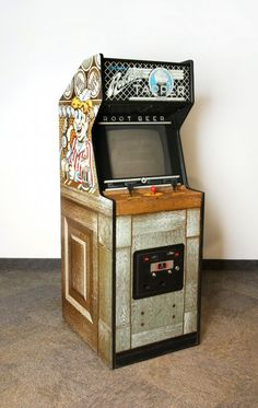 Great cabinet! Check out www.etsy.com/shop/EpicGameWear for cool, vintage, original design arcade t-shirts!