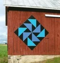 barn quilts are large colorful square wooden quilt blocks mounted on ...