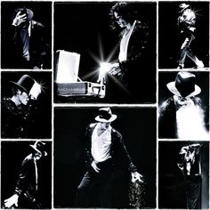 MJ, Billie Jean live collage....this was the concert I saw in NYC at Madison Square Garden...