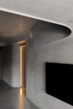HODDI INTERIOR/ Memory on Behance Ceiling Detail, Ceiling Design, Wall Design, House Design, Ceiling Ideas, Luxury Interior, Interior And Exterior, Interior Design, Architecture Design
