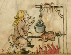 Kalender und Praktika auf die Jahre 1368 14. Jh. Cgm 32 Folio 5v