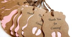 33 Metallic Colors to Choose From Baby Shower Favors, Baby Shower Gift Tags, Custom Gift Tags, Baby Announcments, Thank you for coming tags on Etsy…   Pinteres…