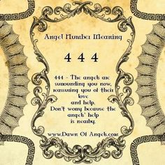Numerology Spirituality - Numerology Reading - Numerology: Angel Numbers 444 Meaning | #numerology #angelnumbers YOUR ASTROLOGY REPORT IS WAITING FOR YOU... - Get your personalized numerology reading #birthdaynumerology Get your personalized numerology reading