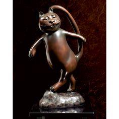 Happy Cat Statue