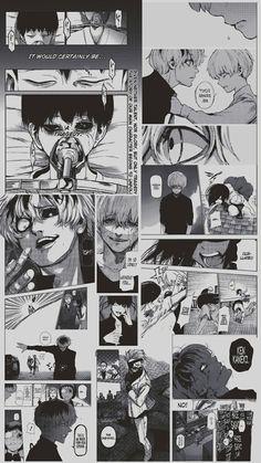 wallpaper - The Universe of Manga Otaku Anime, Manga Anime, Anime Art, Kaneki, Animes Wallpapers, Cute Wallpapers, Anime Collage, Tokyo Ghoul Wallpapers, Tokyo Ghoul Manga