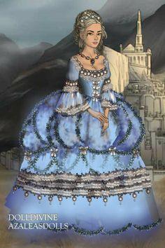 Marie Antoinette ~ by Drea_myst ~ created using the LotR Hobbit doll maker   DollDivine.com