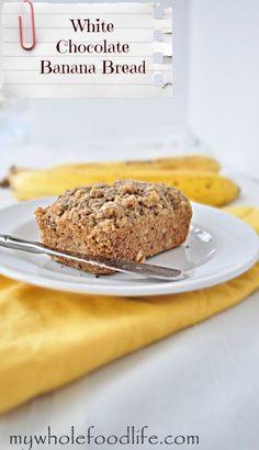 White Chocolate Banana Bread