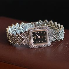 Cheap watch water, Buy Quality watch case directly from China watch bank Suppliers: New Limited Edition Classic Elegant Silver Pure Thai Silver Bracelet Watches Thailand Process Rhinestone Bangle Dresswatch Best Presents For Men, Cool Gifts For Women, Bangle Bracelets, Bracelet Watch, Bangles, Cheap Watches, Women's Watches, Fashion Watches, Watch Bands