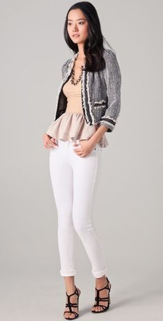 Rebecca Taylor Anywhere Tweed Jacket