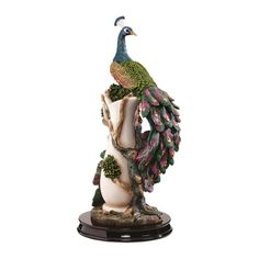 Found it at Wayfair - The Peacock's Garden Figurine