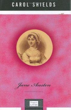Jane Austen by Carol Shields As this book lacked an interesting title in which to title my post, I had to pull lyrics from Jefferson Starship's song Jane.  About three years ago I was in the librar...