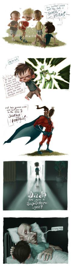 Superhero Dad Cancer