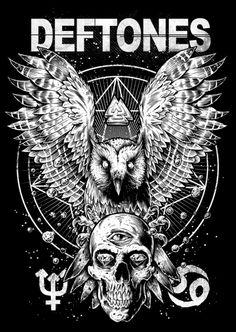 Deftones Art by Brandon Heart