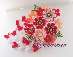 つまみ細工 作り方・花の組み方