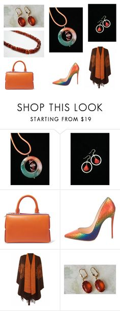 """""""Fall Colors"""" by artistinjewelry ❤ liked on Polyvore featuring Emilio Pucci and Christian Louboutin"""