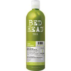 TIGI Bed Head Urban Antidotes Re-Energize Conditioner (750ml) (79 BRL) ❤ liked on Polyvore featuring beauty products, haircare, hair conditioner, tigi haircare, tigi and tigi hair care