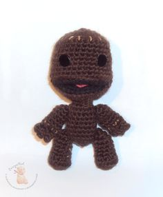 """""""Eagle Eye ... Valentina"""".: Sackboy character in the game """"Little Big Planet"""""""