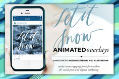Animated Overlay - Let It Snow by Baron Art Co. on @creativework247