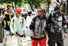 Yakuza (street version)  Street-Style Photographer Tommy Ton Shoots the Menswear Scene