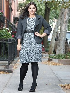 What's more flattering than matchy-matchy suits? New-style pieces. Glamour discovered what's right f