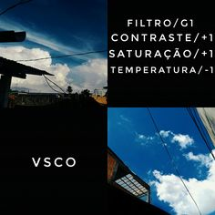 Edição com o filtro G1. Indicado para fotos com o céu azul com nuvens, ou mar e praia de céu com bastante nuvens.