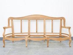 French Style Sofa Louis Salon 2 Seater Settee Dutch