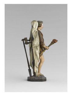Statue: allégorie de la Vie et de la Mort - Musée national de la Renaissance (Ecouen)