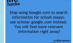 """google Try googling the subject line with """"site:.edu"""" and """"type:.ppt"""".  This will give you powerpoint presentations on the given subject from universities."""