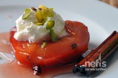Quince Dessert - Delicious Recipes It is www. Quince Dessert - Delicious Recipes It is www. Yummy Recipes, Fruit Recipes, Dessert Recipes, Cooking Recipes, Armenian Recipes, Turkish Recipes, Ethnic Recipes, Turkish Sweets, Greek Sweets