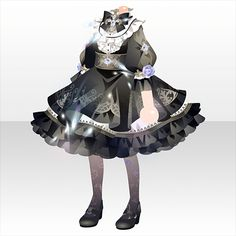 Fashion Games, All Fashion, Anime Outfits, Cute Outfits, Adventure Outfit, Drawing Anime Clothes, Gothic Anime, Cocoppa Play, Japanese Outfits
