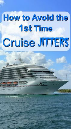 First cruise jitters