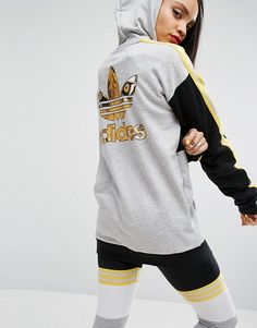 7a1d9ee5276fe adidas Originals X Rita Ora Banned From Normal Sweatshirt With Tiger Back