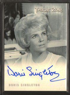 Doris Singleton 2009 Twilight Zone Complete 50th Autograph Auto Card A118 | eBay