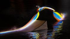 Red Bull Light Painting Wakeboard Photo Series (4)