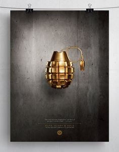 American Advertising Federation of Utah: Grenade #ad #print