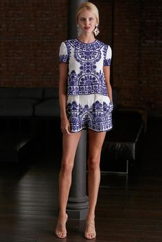Naeem Khan Resort 2015 - Collection - Gallery - Look 1 - Style.com