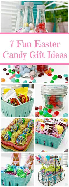 7 Easter Candy Gift Ideas With Hershey's - Mom 4 Real Easter Candy, Easter Treats, Candy Gifts, Jar Gifts, Easter Crafts For Kids, Easter Stuff, Easter Decor, Easter Celebration, Easter Baskets