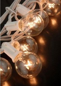 Globe Lights Over 120 Feet Great Buy!! $219