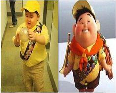 Celebrities And Cartoon Look Alikes -  kid from UP