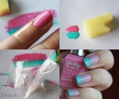 DIY Nail Art   My Little Pony Gradient ~ Beautyill   Beautyblog met nail art, nagellak, make-up reviews en meer!