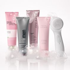 """What a pair! Lift away pore-clogging impurities in SECONDS when you pair the new Skinvigorate Sonic™ Skin Care System with your favorite Mary Kay® cleanser. Contact me if you're ready to make your skin say, """"ahhhh. Mary Kay Ash, Mary Mary, Mary Kay Cosmetics, Perfectly Posh, Cremas Mary Kay, Mary Kay Skinvigorate, Loción Facial, Facial Scrubs, Facial Masks"""