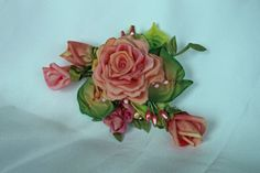 Accessory Hair Clip and Floral Pin with by AddABloomBoutique, $42.00