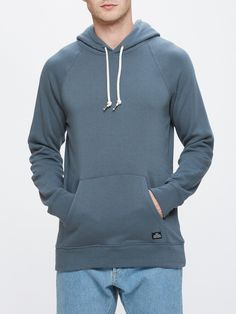 OBEY - Lofty Creature Comfort Men's Pullover, Dark Slate