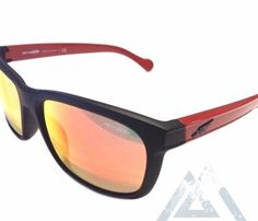 Arnette Slacker  Retro Sunglasses Fuzzy Black Red Mirror Made in  ITALY  AN4196-03-262230665257     GoNative    SeeNative   NativeSlope.com d9d7269133