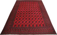 "Red Baluchi Persian Rug 10' x 12' 10"" (ft) http://www.alrug.com/7686"