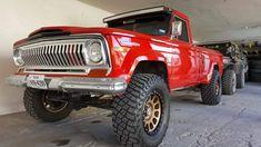 Big Rig Trucks, Lifted Trucks, Cool Trucks, Jeep Wagoneer, Jeep Garage, Jeep Cj, Jeep Willys, Jeep Pickup Truck, Trophy Truck